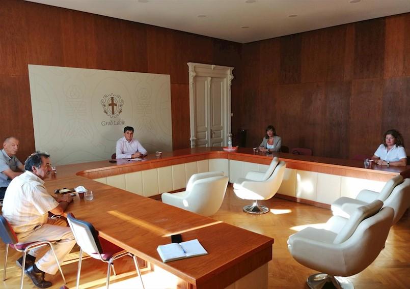 Održana koordinacija Gradonačelnika s načelnicima općina Labinštine