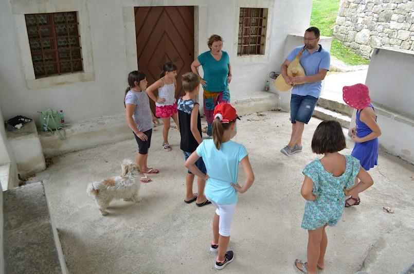 Ljetne radionice za djecu u organizaciji Centra za nematerijalnu kulturu Istre i Općine Pićan