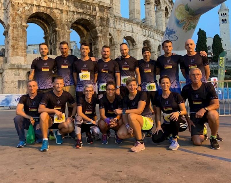 Labinske trkačice i trkači na 2. Pula Marathonu