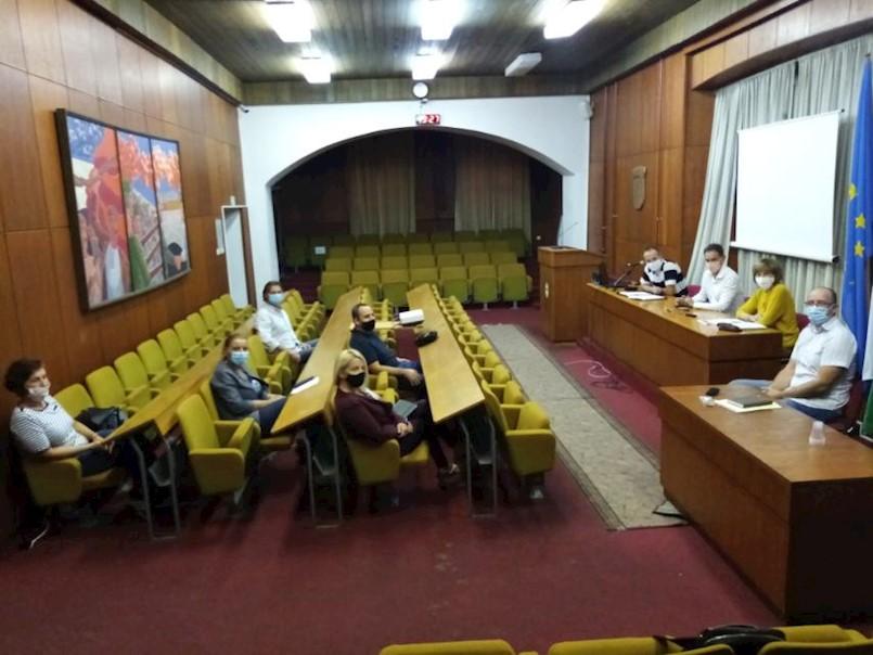 Održan sastanak s MO Labin Gornji
