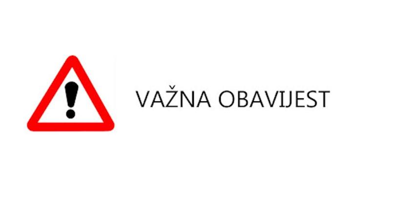 [VAŽNA OBAVIJEST] Zamjenski brojevi telefona žurnih službi u Istri