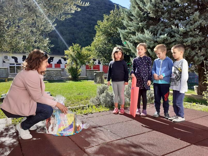 Darivanje u raškom vrtiću u povodu Dječjeg tjedna