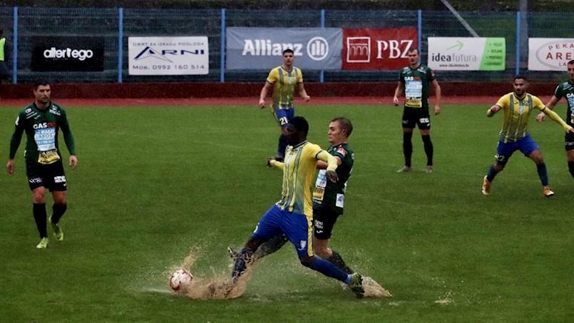 Odlični Rudari u prvih 45 minuta protiv Intera promašili jedanaesterac, nastavak zbog kiše narednog utorka
