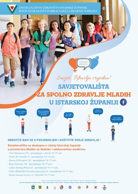 Savjetovalište za spolno zdravlje mladih svakog ponedjeljka u Labinu