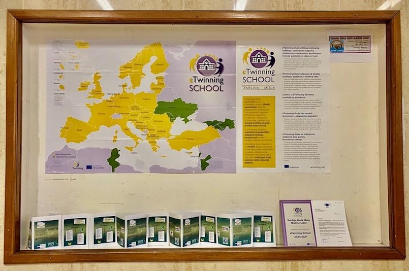 ERASMUS DAYS 2020 u labinskoj Srednjoj školi