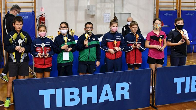 Sjajan Leo Bernaz (STK Brovinje) tri se puta penjao na postolje u PH za najmlađe  kadete i najmlađe kadetkinje u stolnom tenisu