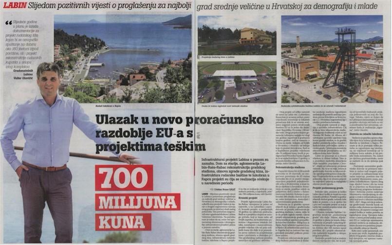 Valter Glavičić: Ulazak u novo proračunsko razdoblje EU-a s projektima teškim 700 MILIJUNA KUNA