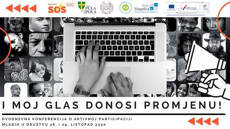 Završna konferencija projekta SOS: I moj glas donosi promjenu!