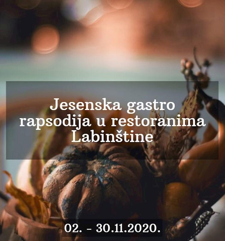 Jesenska gastro rapsodija - Najlepci gušti podzimka u restoranima Labinštine