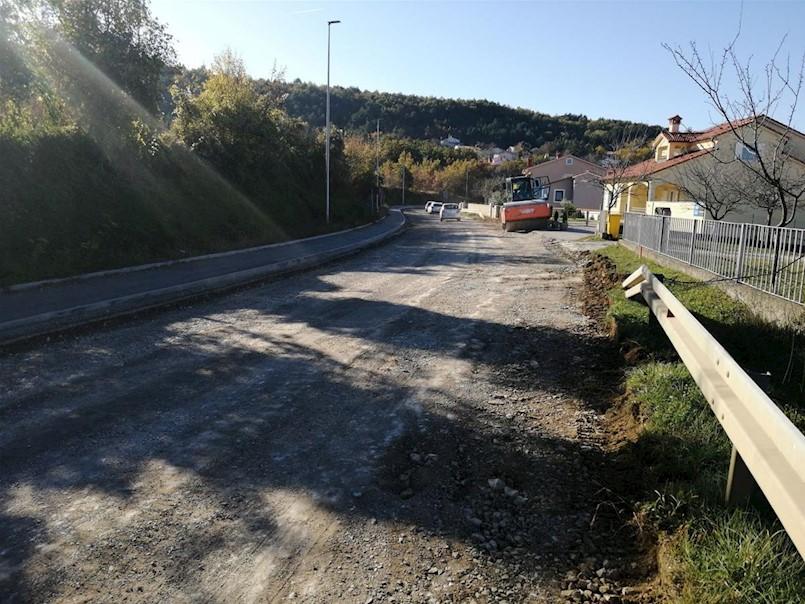 Započela sanacija ceste kroz Kapelicu