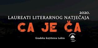 """Virtualno proglašenje laureata literarnog natječaja """"Ca je ča"""" 2020."""