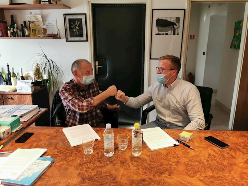 Potpisan Ugovor o izgradnji infrastrukture proizvodno-poslovne zone Kršan Istok