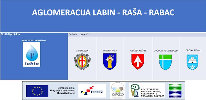 Vodovod Labin potpisao ugovor o izradi projektne dokumentacije te dokumentacije o nabavi za prijavu projekta aglomeracije Labin-Raša-Rabac