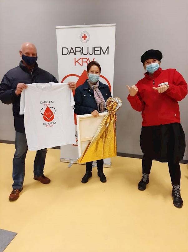 Akcija dobrovoljnog darivanja krvi u Labinu: 63 doze krvi i Đurčekovo 100-o darivanje na akciji u subotu