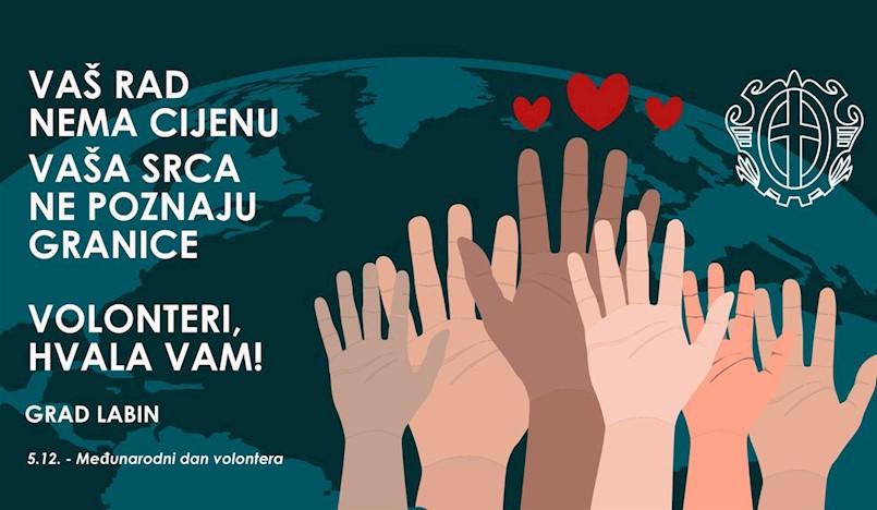 Međunarodni dan volontera - VIDEO ČESTITKA
