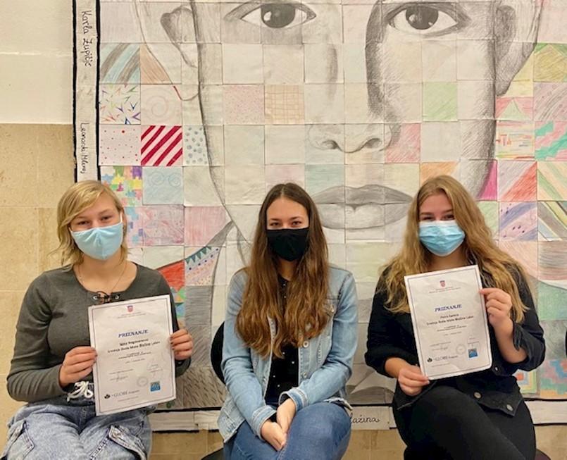 GLOBE ekipa SŠMB-a osvojila 4. mjesto na Državnoj smotri i natjecanju hrvatskih GLOBE škola