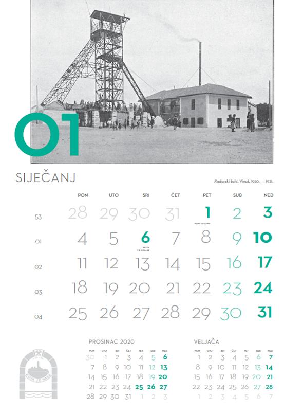 U prodaji kalendari u povodu 100. obljetnice Labinske republike