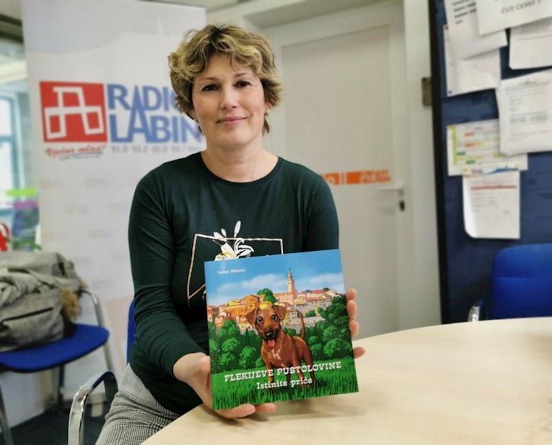 Josipa Milevoj predstavlja knjigu ''Flekijeve pustolovine Istinite priče''