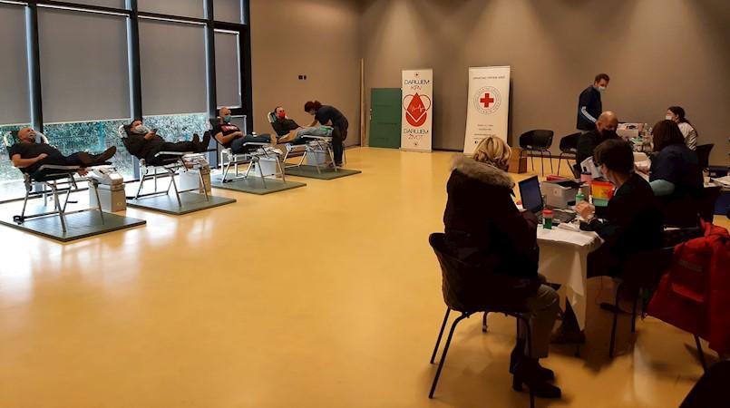 U prvoj ovogodišnjoj akciji prikupljeno 102 doze krvi - čak 16 novih darovatelja
