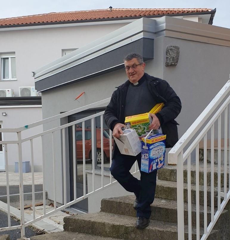 Završena akcija prikupljanja materijalne pomoći labinskog Caritasa