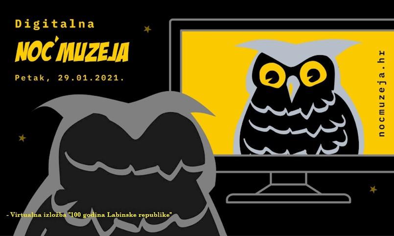 Digitalna Noć muzeja 2021. u Narodnom muzeju Labin