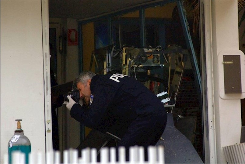 Obavljen očevid u stanu u Labinu - uzrok požara električna grijalica