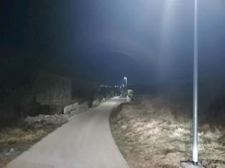 Završeno postavljanje nove linije javne rasvjete u naselju Breg Ivanovci