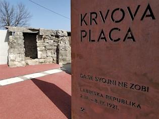 Krvova placa u očekivanju 100-te obljetnice Labinske republike