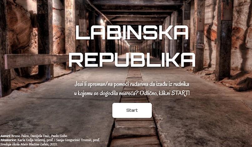 Labinski srednjoškolci virtualnim aktivnostima obilježili 100-tu obljetnicu Labinske republike