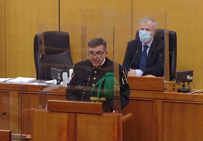 Demetlika u Saboru govorio odjeven u svečanu rudarsku odoru