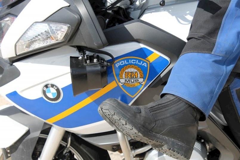 U nedjelju pojačana kontrola motorista na području Labinštine - D66 Vozilići - Brestova