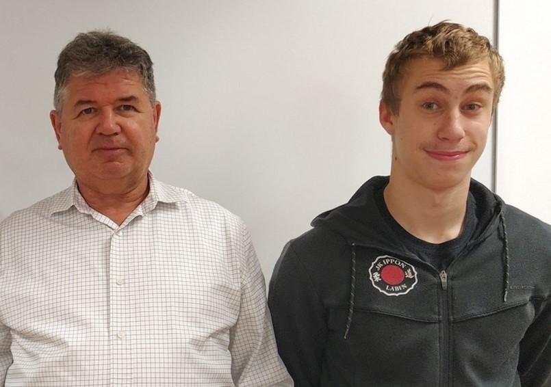Petar Dundara i Mateo Dobrić iz labinske Srednje škole  osvojili dva 1. mjesta na Županijskom natjecanja iz informatike