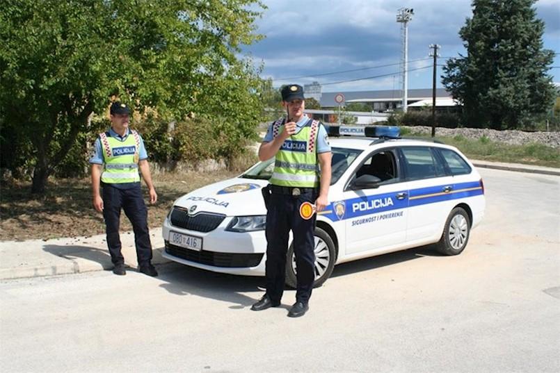 U akciji prometne policije na D66 Vozilići - Brestova na tzv. Plominki nije bilo utvrđenih prekršaja