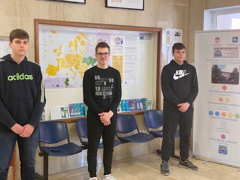 """Gimnazijalci """"Labin teama"""" labinske Srednje škole osvojio 2. mjesto na BeSafeNet olimpijadi o prirodnim katastrofama"""