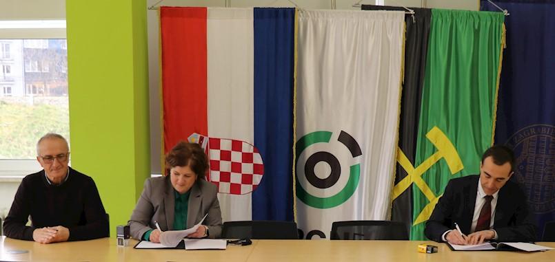 Općina Raša potpisala Sporazum o suradnji s Rudarsko geološko naftnim fakultetom