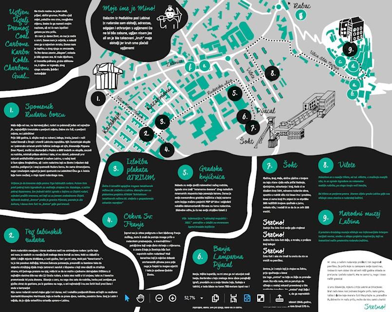Storytelling mape od danas dostupne u Turističkoj zajednici grada Labina ali i u obliku videa!