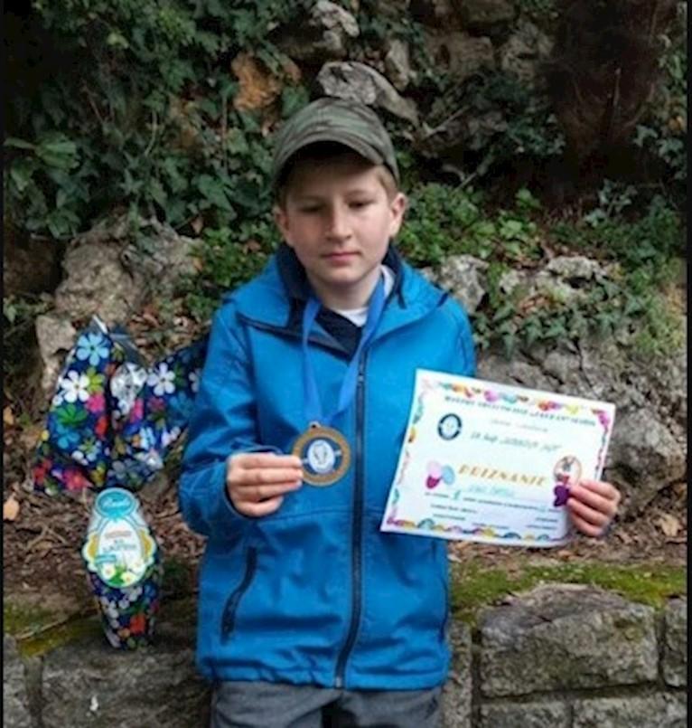 Niko Batelić iz raškog Galeba osvojio prvo mjesto u svojoj kategoriji na 18.KUP Uskršnje jaje u sportskom ribolovu