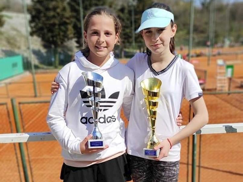 Tenisačici Rapca Viktoriji Hrvatin drugo mjesto na Otvorenom prvenstvu Kvarnera