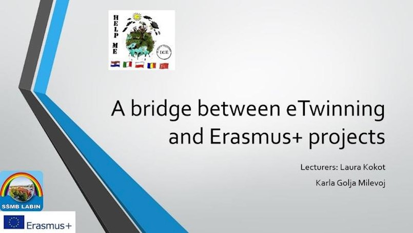 """Profesorice SŠMB-a Karla Golja Milevoj i Laura Kokot održale radionicu """"A Bridge between eTwinning and Erasmus+ projects"""""""