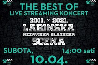 POGLEDAJTE PREMIJERU VIDEA: Labinska Scena The Best of - nastupi uživo devet labinskih alternativnih bendova