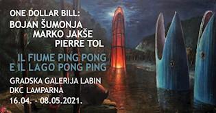 Umjetnička grupa One Dollar Bill u Gradskoj galeriji Labin i DKC-u Lamparna