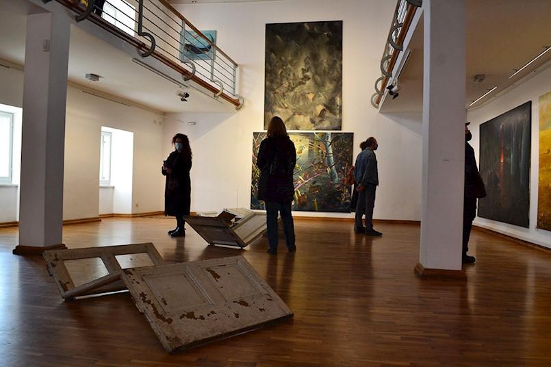 "U Gradskoj galeriji Labin otvorena je izložba ""Il fiume Ping Pong e il lago Pong Pong Ping"""
