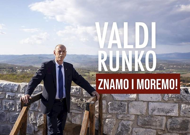 Valdi Runko objavio kandidaturu za još jedan načelnički mandat