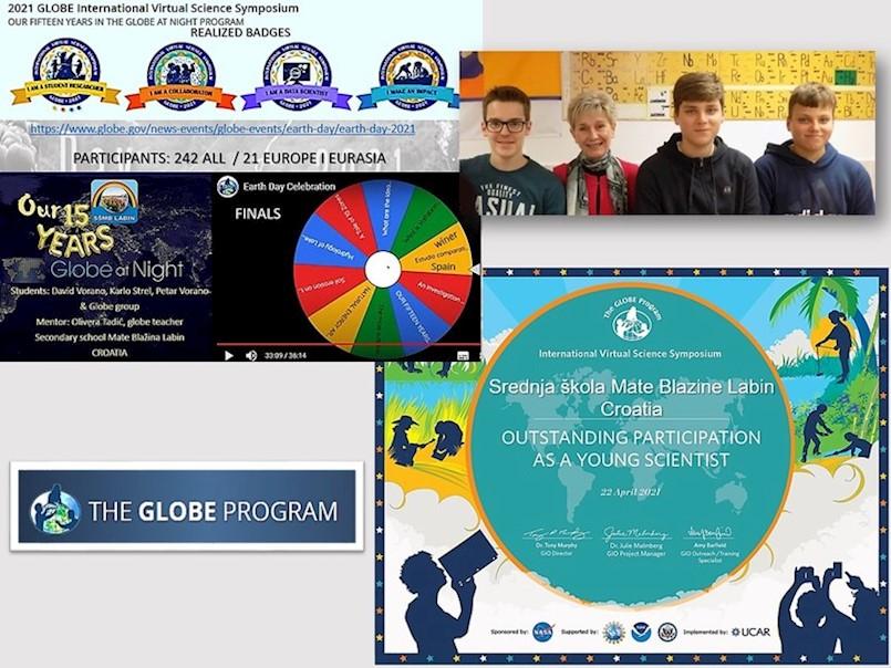 Učenici labinske Srednje škole obilježili Dan planeta Zemlje 22.4.2021.