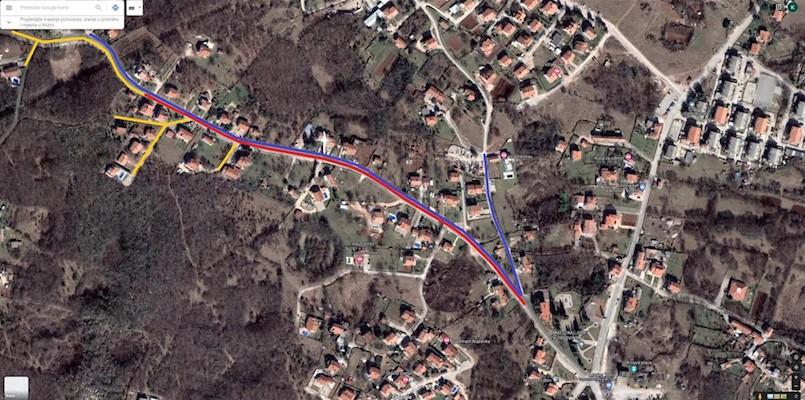 Završen postupak nabave za izgradnju vodovodnog ogranka i javne odvodnje na dionici OŠ Ivo Lola Ribar Vinež –Juraj