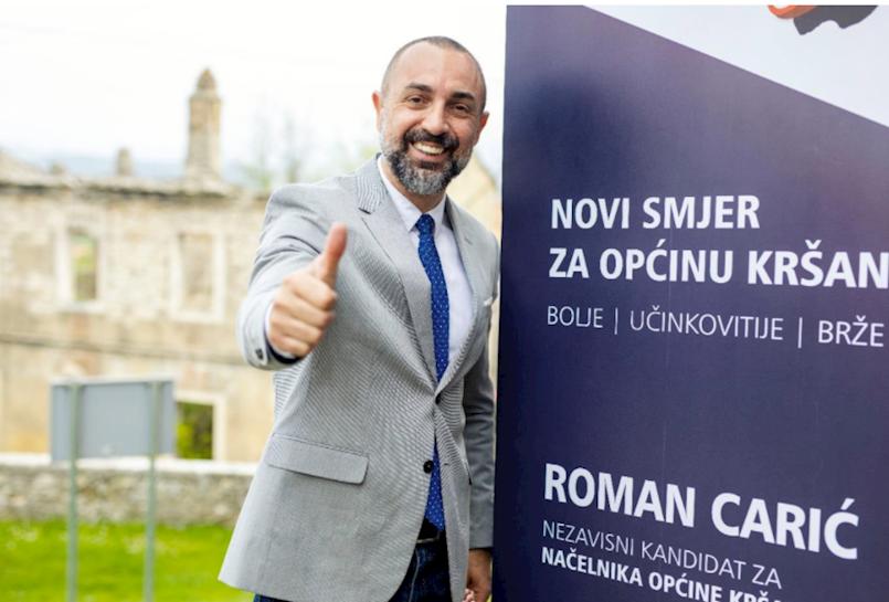 Roman Carić danas poslao poruku svim žiteljima Općine Kršan
