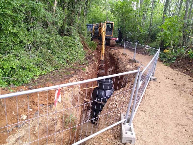 Započela izgradnja kanalizacijskog sustava Marceljani