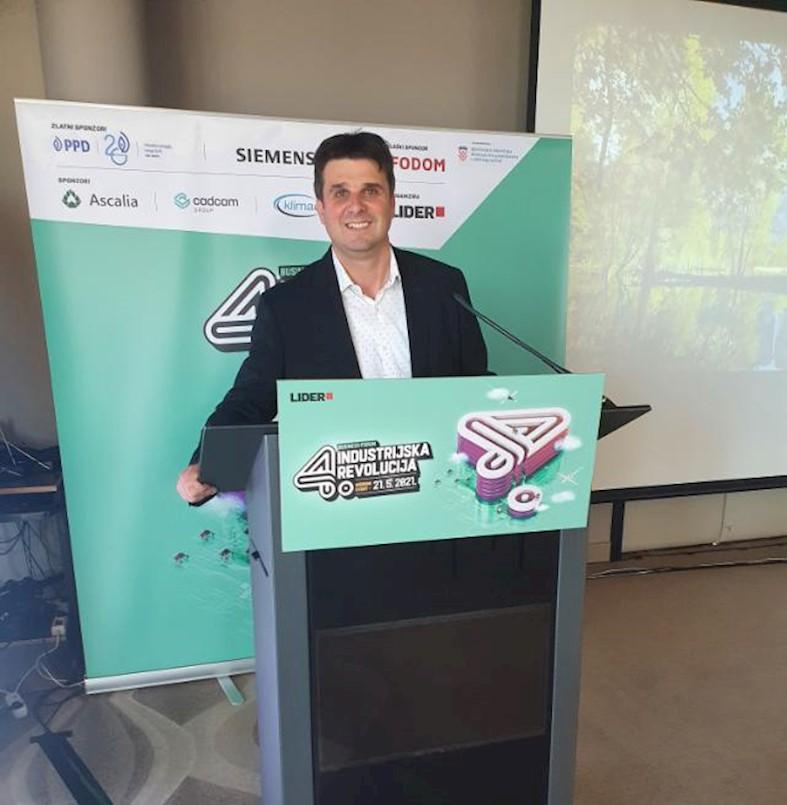 Gradonačelnik Glavičić sudjelovao na Business Forumu o 4. industrijskoj revoluciji
