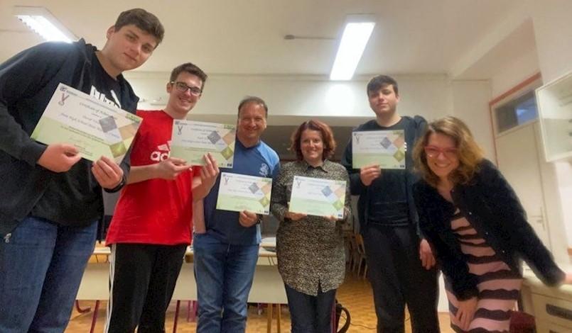 Učenicima Srednje škola Mate Blažine Labin uručen Srebrni certifikat
