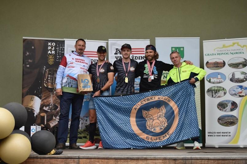 Eldin Hodžić, pojedinačni, a Sportsko rekreacijski klub Alba ekipini prvak Hrvatske u planinskom trčanju na duge staze